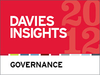 Davies Governance Insights 2012